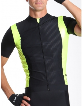 Men's cycling jersey yellow Distinguished