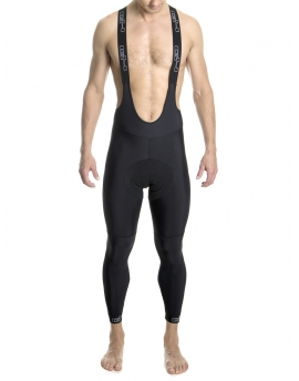 Men's black bib-tights Distinguished