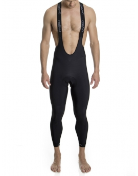 Men's black bib-tights