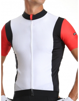 Maillot vélo homme rouge Distinguished
