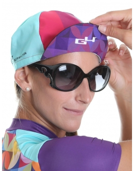 Pink cycling cap Hipster