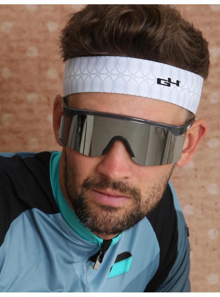 Bike headband – white