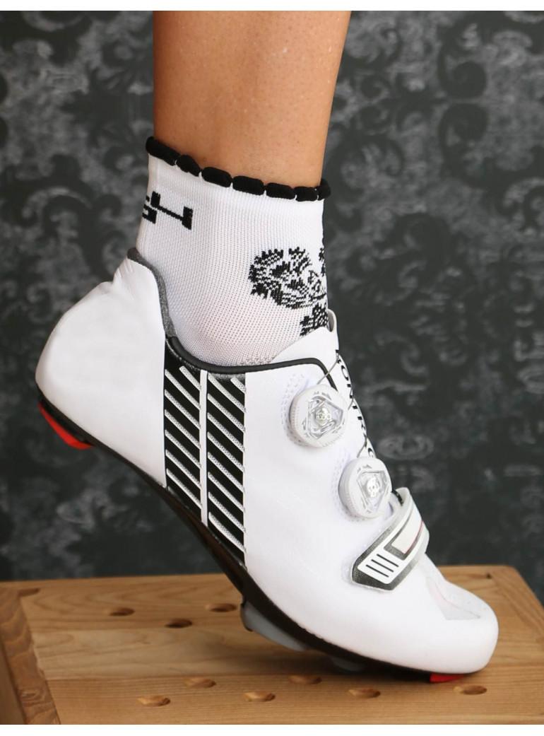 Distinguished woman White Socks