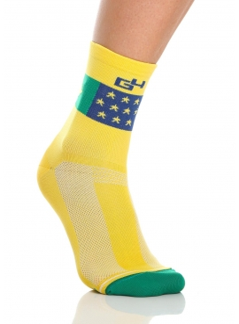 Chaussettes cyclisme Brésil National