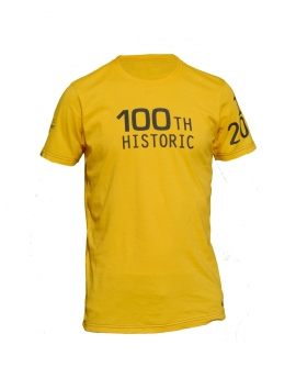"T-shirt Yellow Special ""100th Tour & Eurosport"" Limited edition"