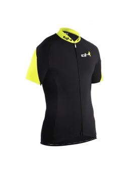 Men's cyling jersey Yellow