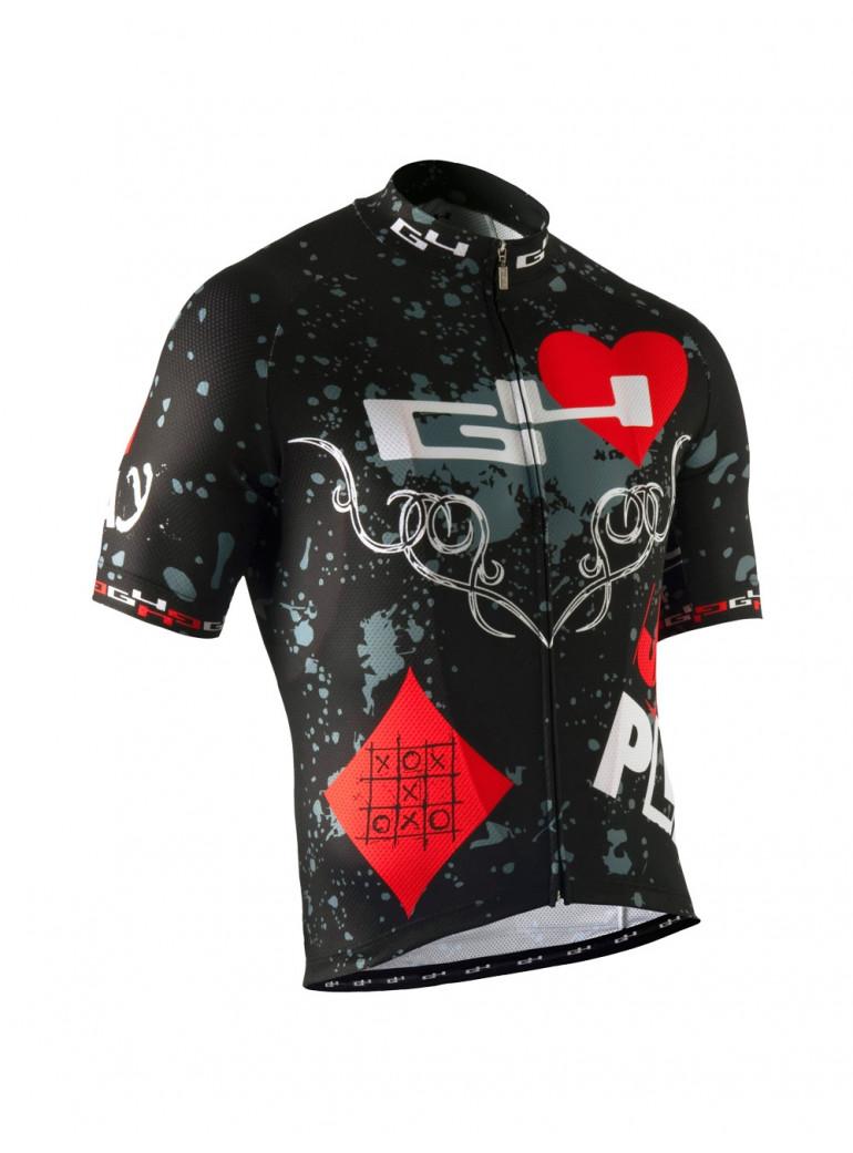 Men's cycling jersey Poker