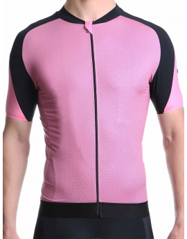 Men's cycling jersey pink Simply