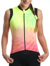 CYCLING SLEEVELESS JERSEY WOMAN TROPIC
