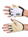 Summer Leather Gloves White