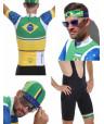 Tenue homme de cycliste Brésil Pack