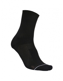 Distinguished Black Cycling Socks