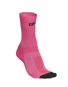 Chaussettes cyclisme Pro roses fluos