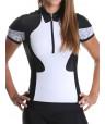 Maillot cyclisme femme noir blanc Distinguished