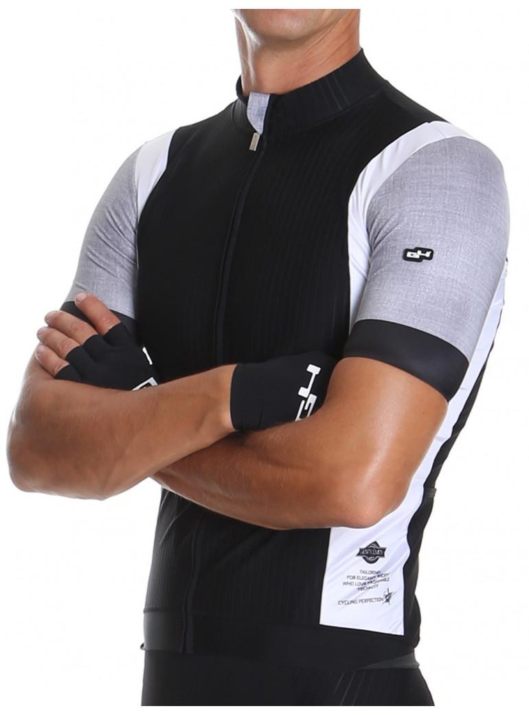 Maillot de cyclisme noir Distinguished