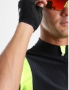Maillot cyclisme homme jaune Distinguished