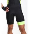 cuissard cyclisme noir et jaune Distinguished