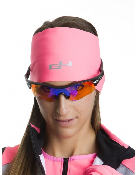 Thermo-Fit Head Band Neon Pink
