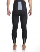 Men's black bib-tights Distinguished