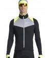 Veste thermique de vélo homme jaune