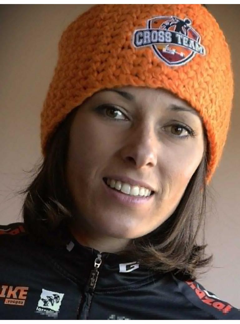 Winter Orange Headband Cross Team by G4