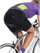 Maillot vélo femme violet Simply
