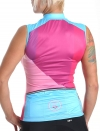 Women's sleeveless cycling jersey Hipster
