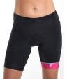 Women's cycling bib shorts pink Hipster