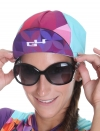 Casquette vélo Hipster-Rose