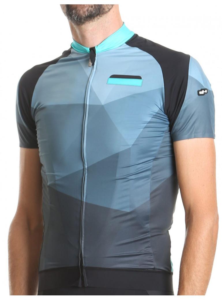 Maillot vélo homme bleu Hipster