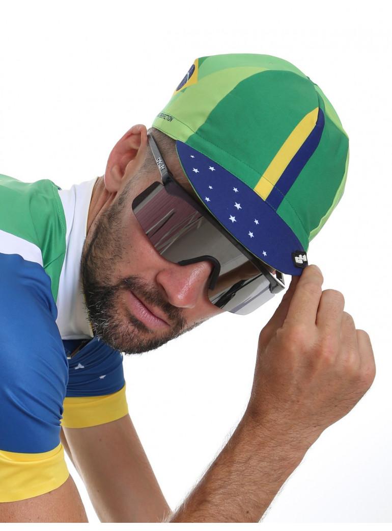 Casquette cyclisme Brésil National