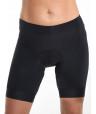 Women's cycling bib shorts black Simply