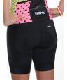 Cuissard vélo femme Simply-Noir