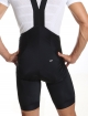 Men's cycling bib shorts black compression