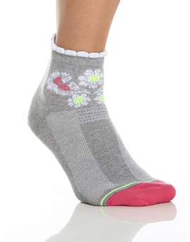 Dintinguished Chaussettes femme grise