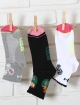 Chaussettes cyclisme blanches  Distinguished Femme
