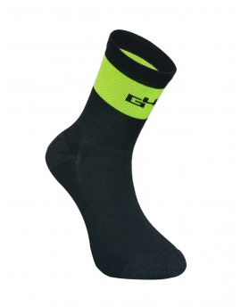 THERMO Merino Chaussettes Jaune fluo