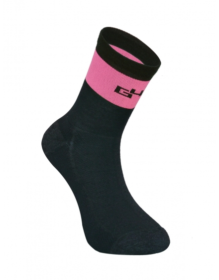 THERMO Merino Chaussettes rose fluo