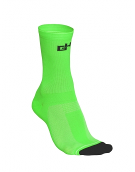 HIGH CYCLING SOCKS NEON GREEN