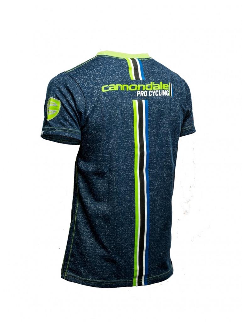 T-Shirt Bleu Cannondale