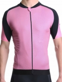 Maillot cyclisme homme rose Simply