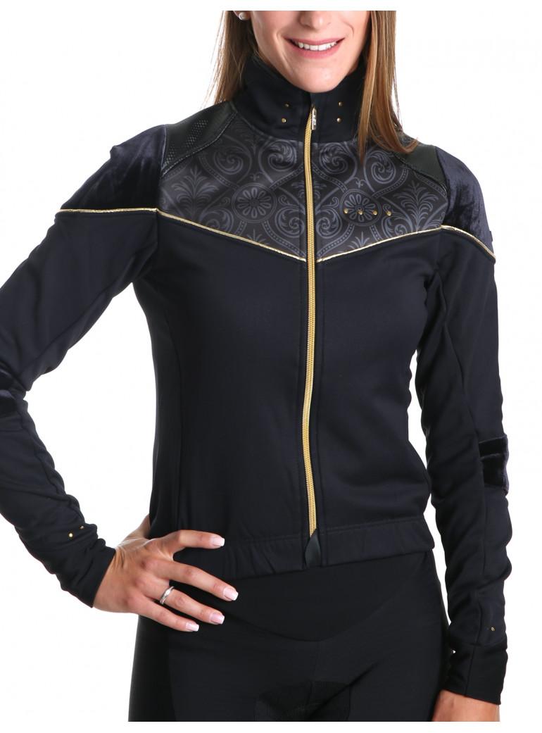 Veste cyclisme hiver femme Chic