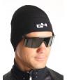 Bonnet cyclisme hiver noir
