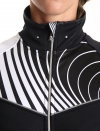 Women's mid-season cycling jacket - Graphic