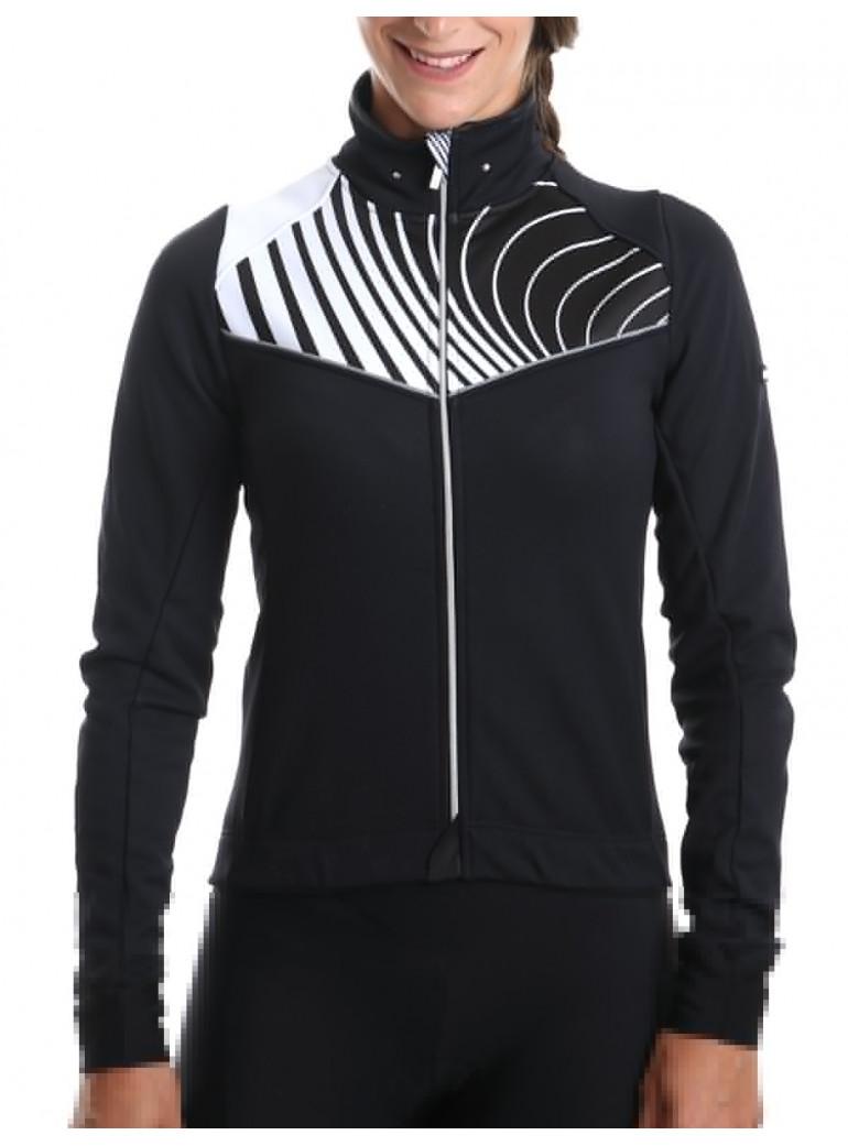Women's mid-season cycling jacket - Graphic