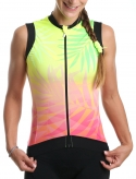 Cycling sleevless moman jersey Tropic