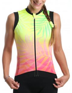 Maillot cyclisme femme sans manches Tropic