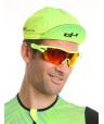 Cycling yellow cap