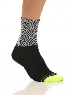 Men's cycling high socks Etnic