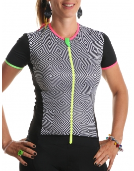 CYCLING JERSEY WOMEN ETHNIC
